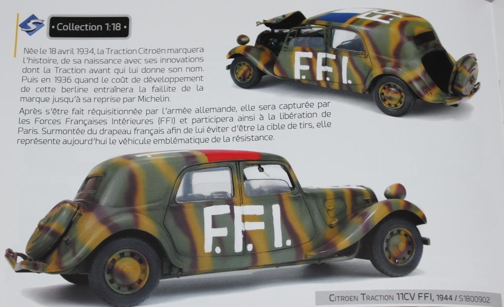 """la Traction FFI en livrée camouflée est la prochaine """"grande"""" nouveauté sous l'uniforme attendue..."""