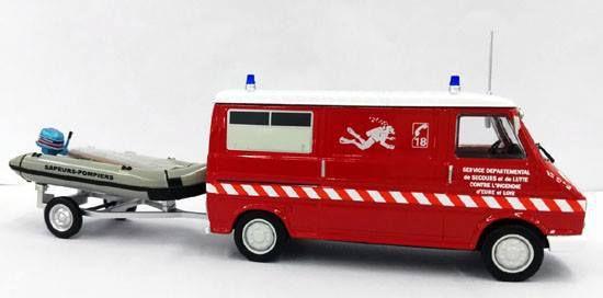 Citroën C35 pompiers au 1:43 (Eligor)