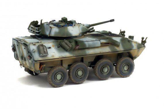 LAV-25 au 1/72 (Solido/WarMaster)