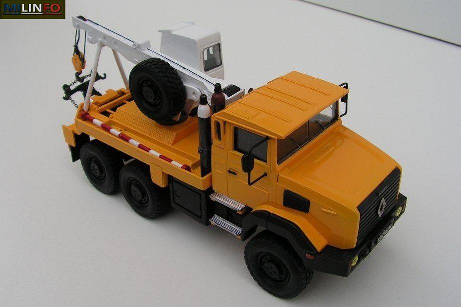 Modif : Renault GBC 180 véhicule de dépannage civil (sur abse Solido, par Paul R.)
