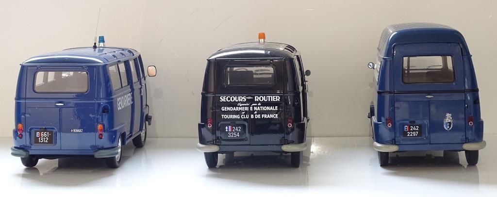 Renault Estafette Gendarmerie au 1:18 (OttOmobile) - mise à jour 13 décembre 2017