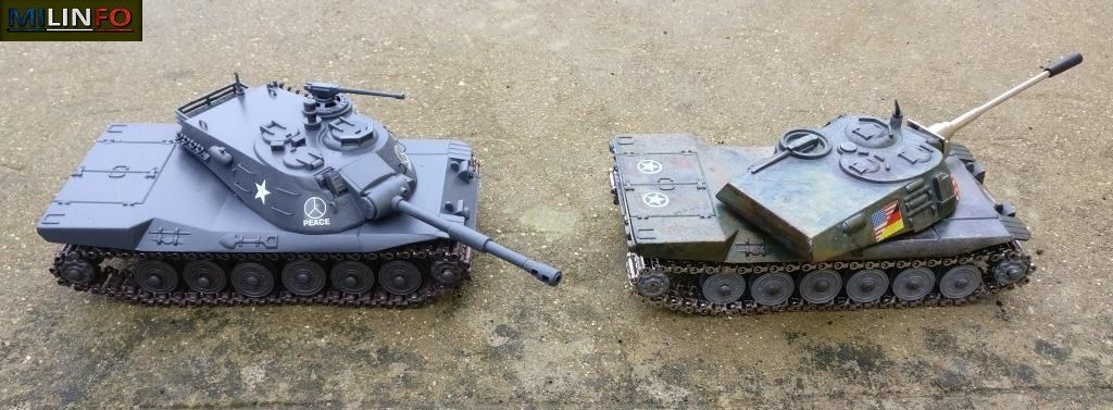 Char MBT-70 au 1:50 (Playme) par Dominique B.