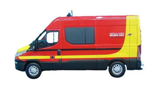 Nouveauté pompiers : Iveco Daily des Formations Militaires de la Sécurité Civile (Eligor)