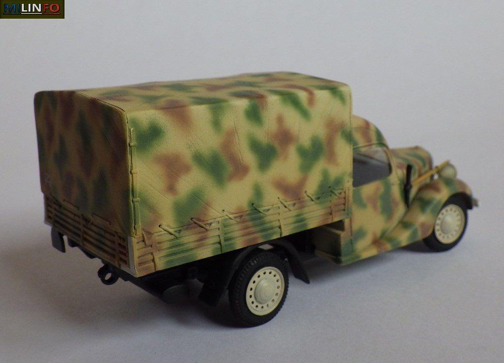Camionnette Renault BFP Primaquatre, version Normandie 44 (8 photos)