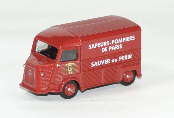 Citroën HY Sapeurs-Pompiers de Paris (Norev - 3 inches)