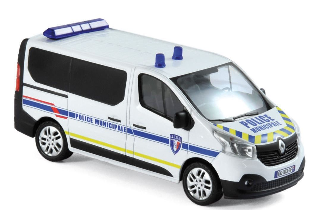 Renault Trafic III Police Municipale au 1/43 (Norev)