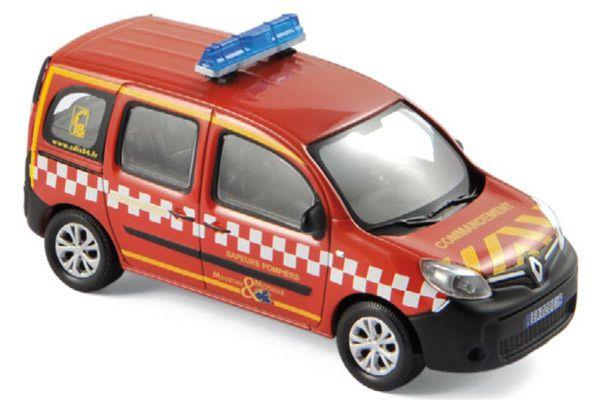 Renault Kangoo sapeurs-pompiers (nouveautés 2018)