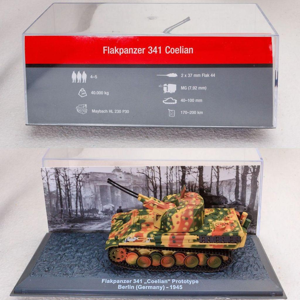 Flakpanzer 341 Coelian au 1:72 (Solido/WarMaster)