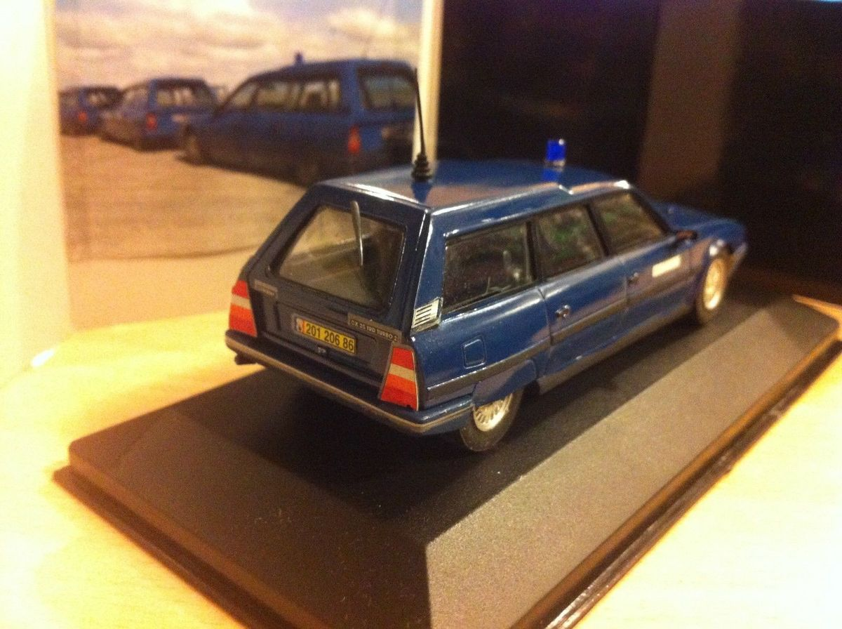 "Citroën CX break seérie 2 ""GIGN3 au 1:43 (Autostyl)"