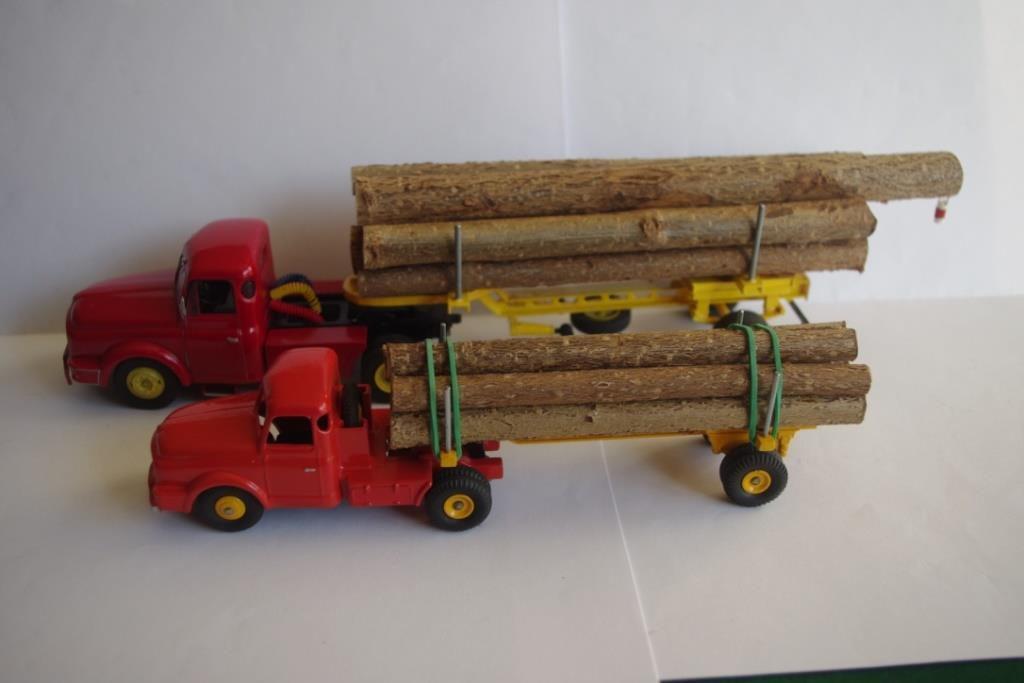 Tracteur MACK et semi-remoque US 10 T au 1/43 (par Jean-Pierre B.)