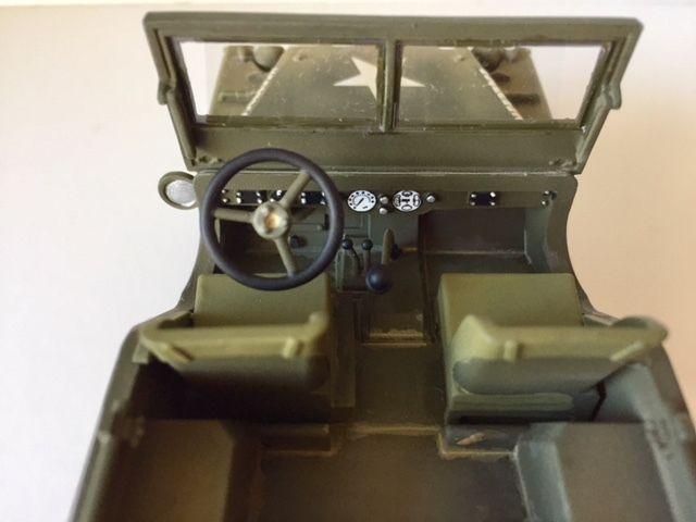 La Jeep  Bantam BRC 40 en version anglaise de chez Thomas Gunn, au 1/35