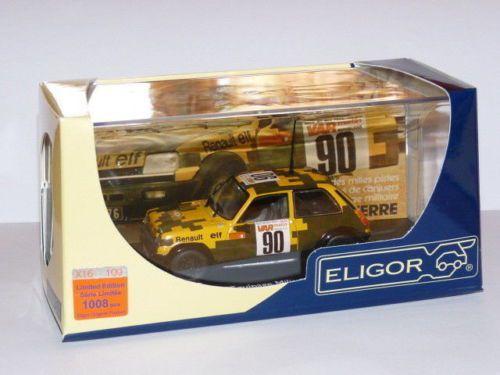 """Renault 5 Alpine """"Mille pistes"""" équipage militaire au 1:43 (Eligor)"""