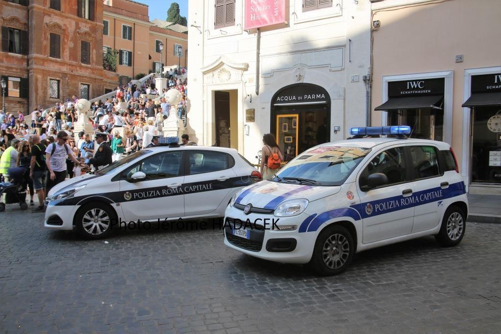 Rome : militaires et policiers montent la garde (par Jérôme hadacek) - Mise à jour 2 juin 2018