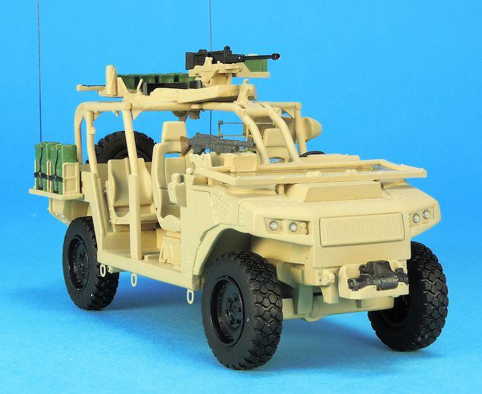 Véhicules&matériels : l'AREG, le futur Véhicule Léger des Forces Spéciales (VLFS)