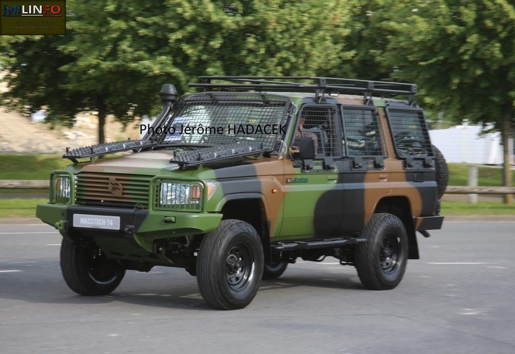 Masstech sur le parking : le 6X6 devrait être le prochain PLFS, acheté sur étagère, bien avant que celui d'ARQUUS ne soit livré !