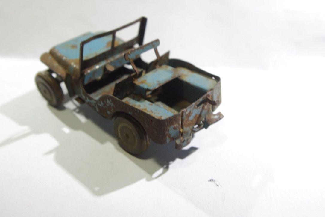 Restauration jeep Polichinelle (par Jean-Pierre B.)