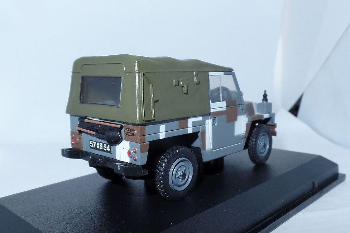 "Land Rover 1/2 Ton  au 1/43 ""camouflage urbain"""