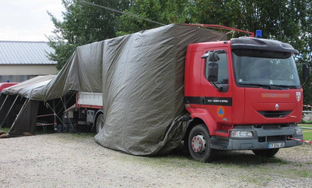 Divers véhicules et matériels...