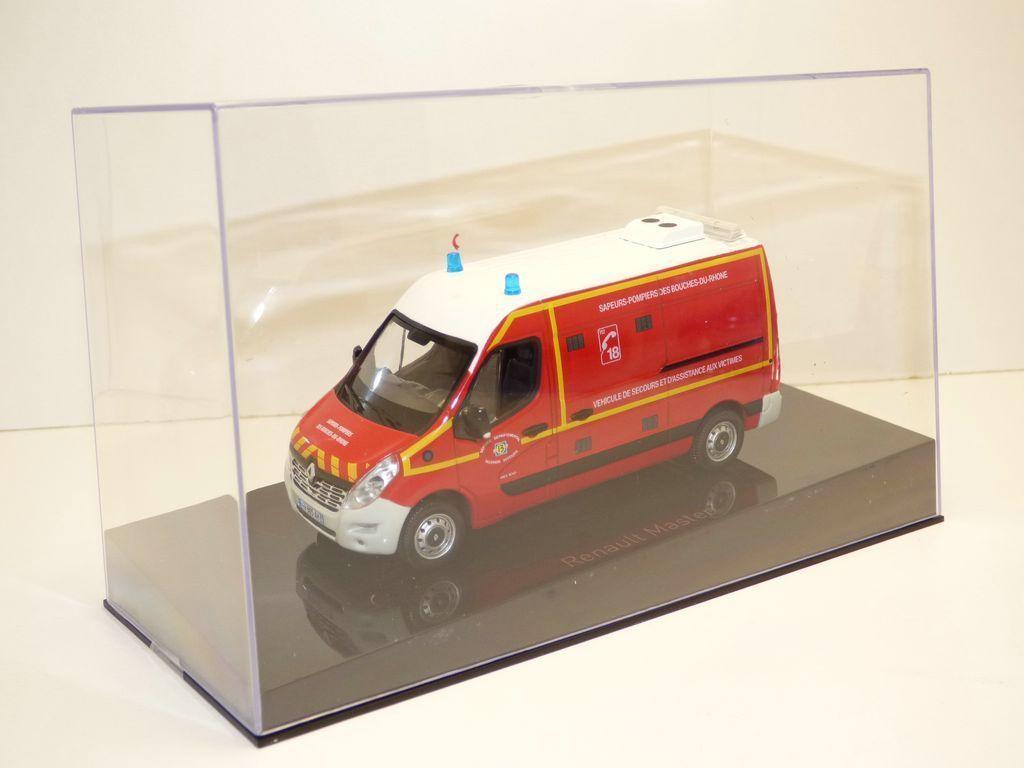 Renault Master Sapeurs-pompiers au 1/43 (Norev)