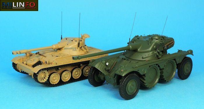 """AMX-13 et EBR """"revus et corrigés"""" par Elodie"""