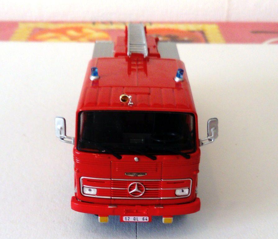 Fourgon-pompe Mercedes-Benz L1113 au 1:43 (Hachette/Ixo)