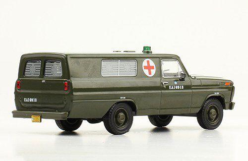FORD F-100 ambulance au 1:43 (De Agostini) - MAJ 14/08/19