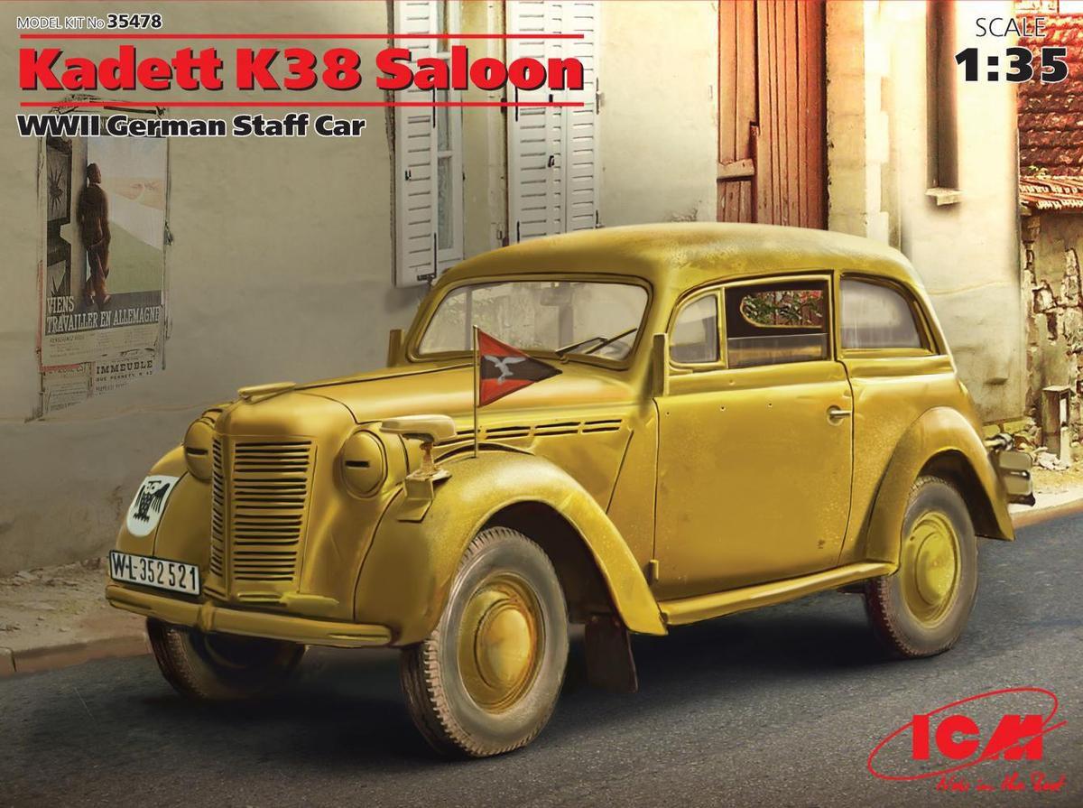 Opel kadett K38 au 1:43 (par Hervé C.)