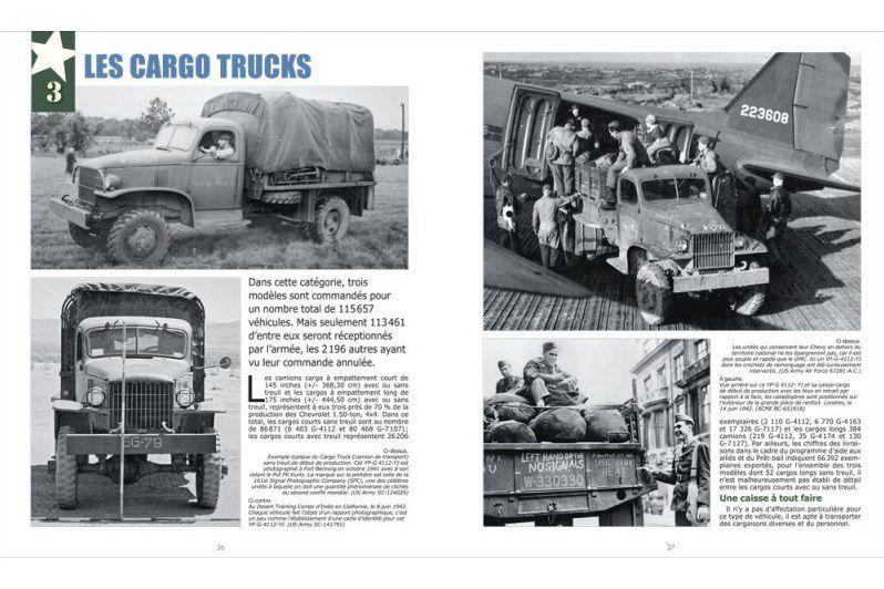 Nouveauté librairie : les camions de l'US Army - Le Chevrolet 1.50-ton 4x4 (Histoire&Collections)