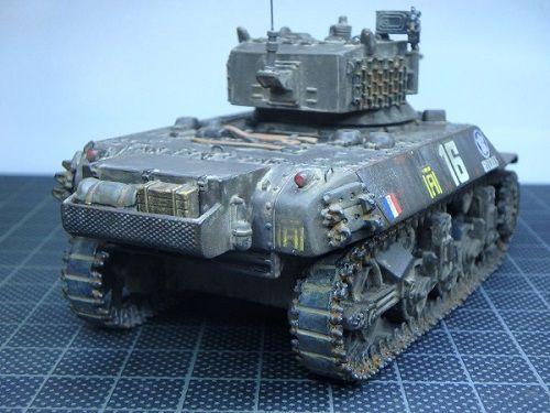 Char léger M3 Stuart, M3A3 Stuart et M5A1 Stuart au 1/48 (Master Fighter/ Gaso.Line)