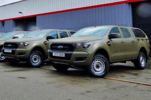 VERSION 1 : Ford Ranger des commandos et fusillers marins