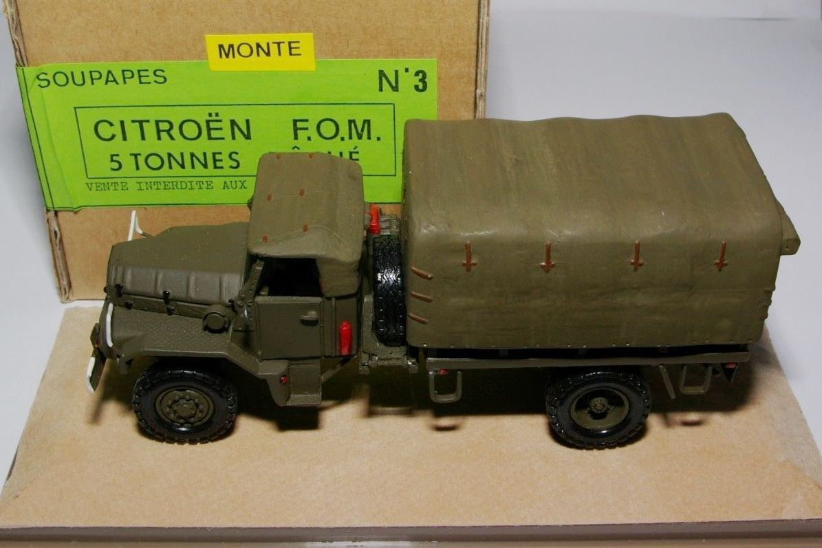 Collector : le Citroên F.O.M. de chez Soupapes