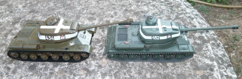 Char JS-2M Joseph Staline au 1/43 (Altaya/Ixo)