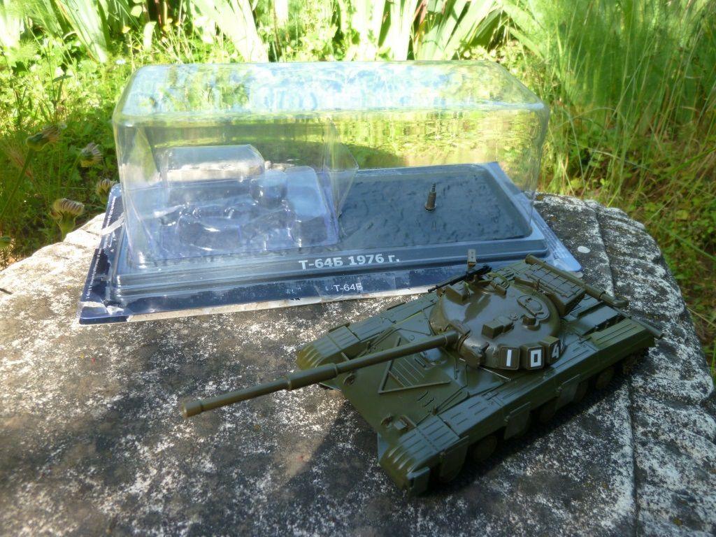 Le char T-64 B de chez De Agostini au 1/43