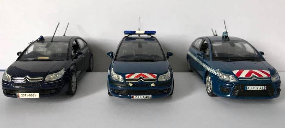 Trio de Citroën C4...