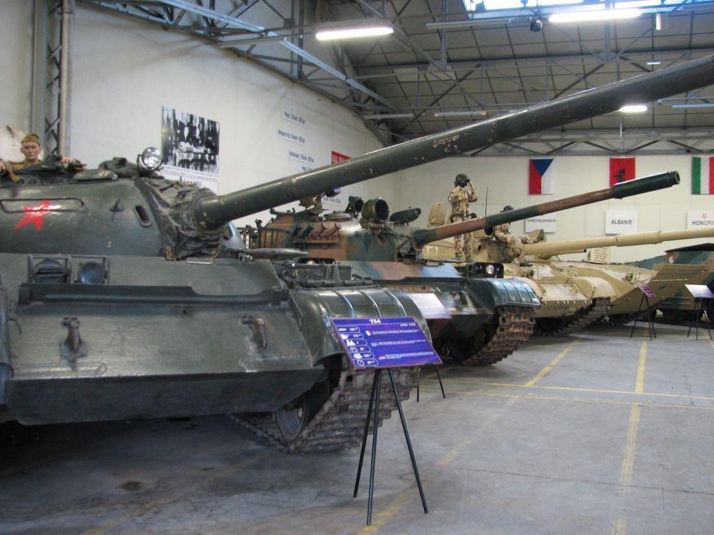 Visite au Musée des blindés de Saumur (par Robert B. et Dominique B.) Suite et fin