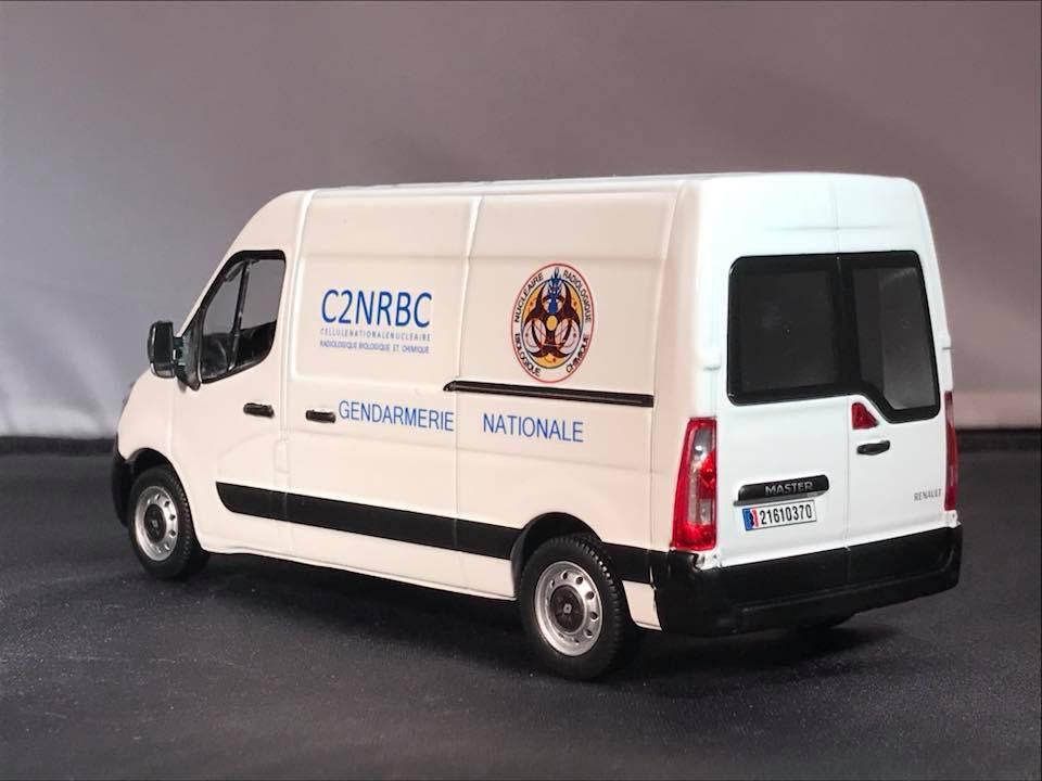 Renault Master Gendarmerie Nationale Cellule Nationale Nucléaire Radiologique Biologique et Chimique (C2NRBC)