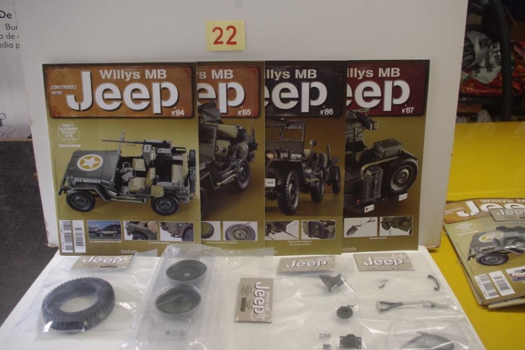 Jeep Willys MB au 1/8 (Hachette/Ixo - Premium X)