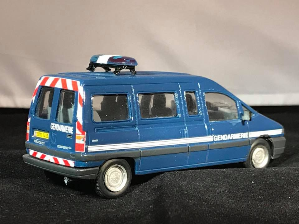 Peugeot expert long Gendarmerie Nationale