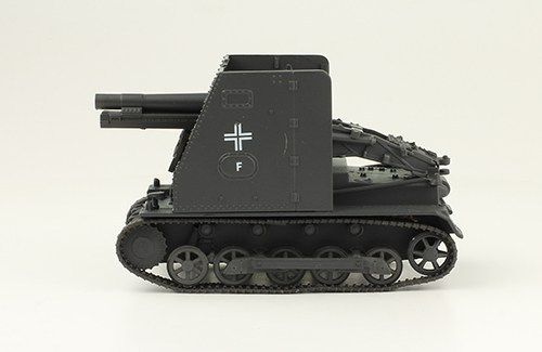 Canon d'assaut chenillé Sturmpanzer I « Bison » au 1:43 (Altaya/Ixo)