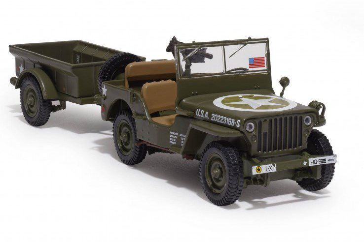 Jeep® Willys MB au 1/43 (Hachette/Ixo)