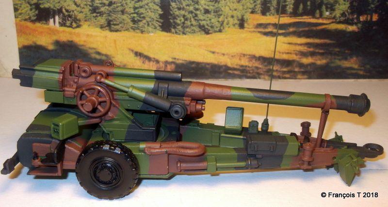 Le canon 155 TRF1 en configuration route...
