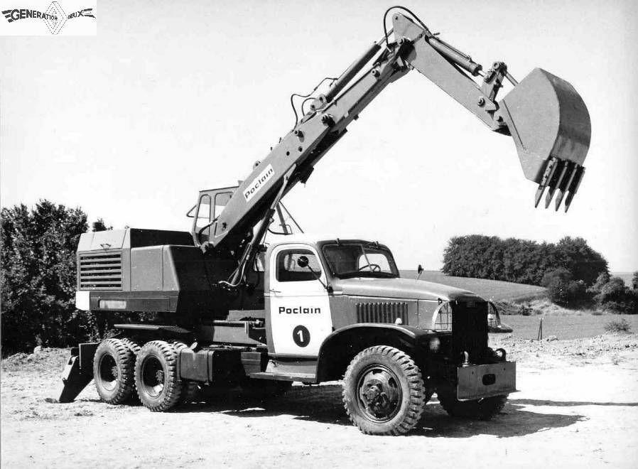 Collector - Grue Poclain TP30 sur GMC 6x6 au 1/50 (Conrad)