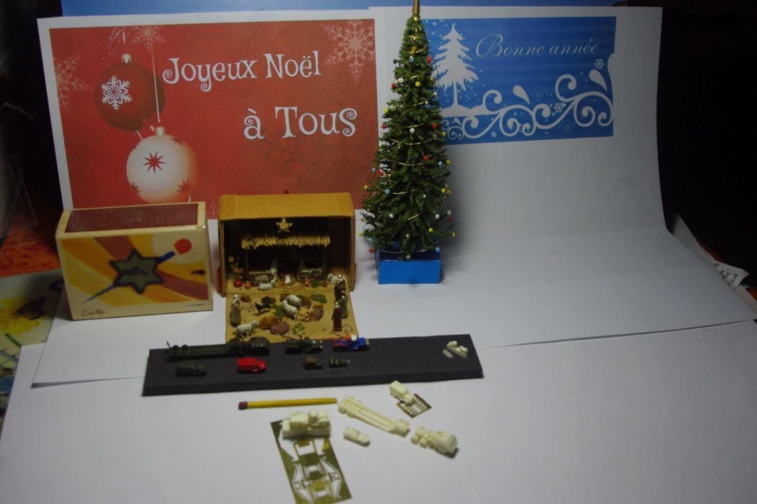 Les miniatures fêtent Noël...