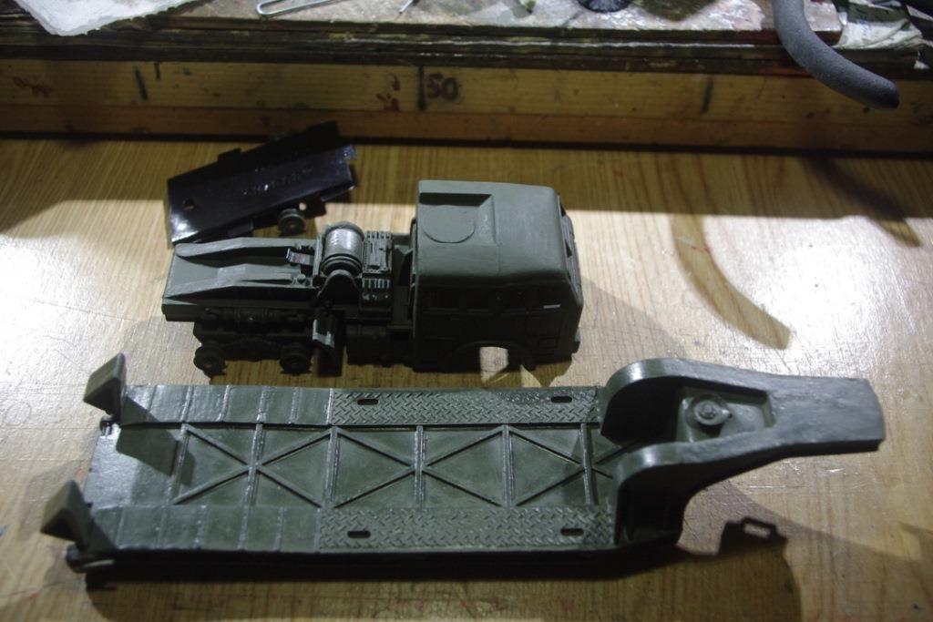 Restauration : Berliet T6 porte-char de chez Dinky Toys (par Jean-Pierre B.)