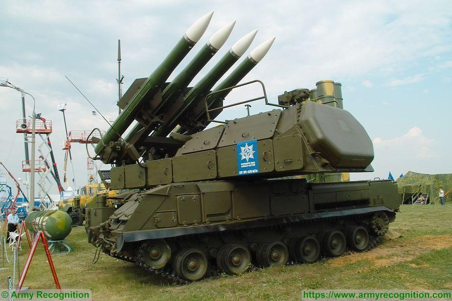 Système antiaérien de moyenne portée SA-17 Grizzly au 1/43 (par Kamal)