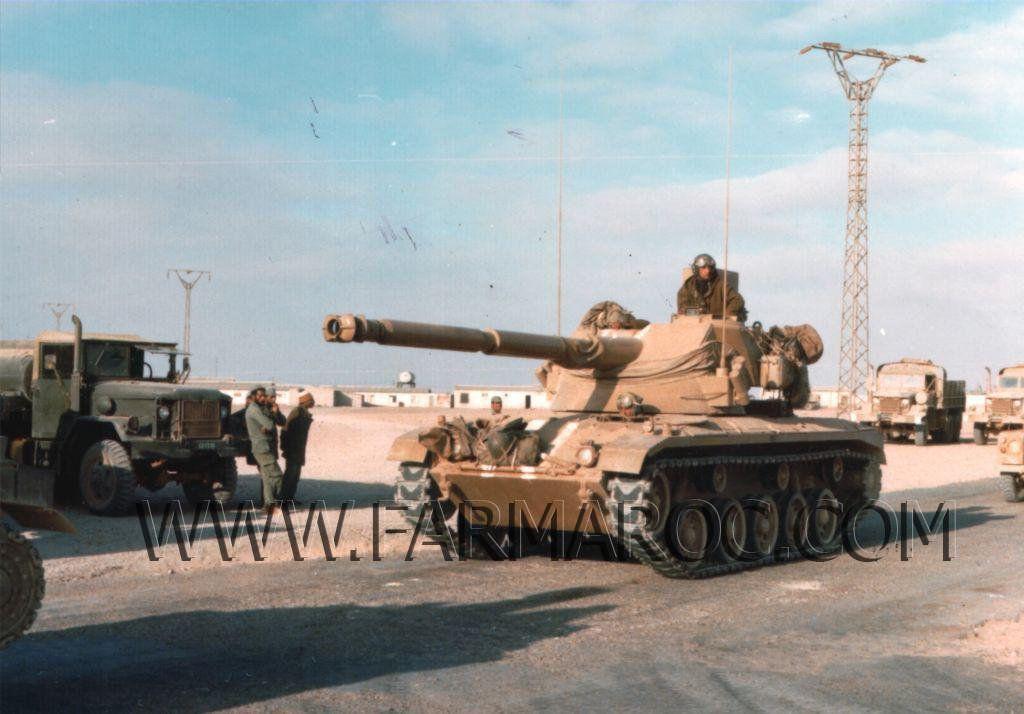 Le SK-105 Kurassier en szervice au sein le l'Armée Royale Marocaine