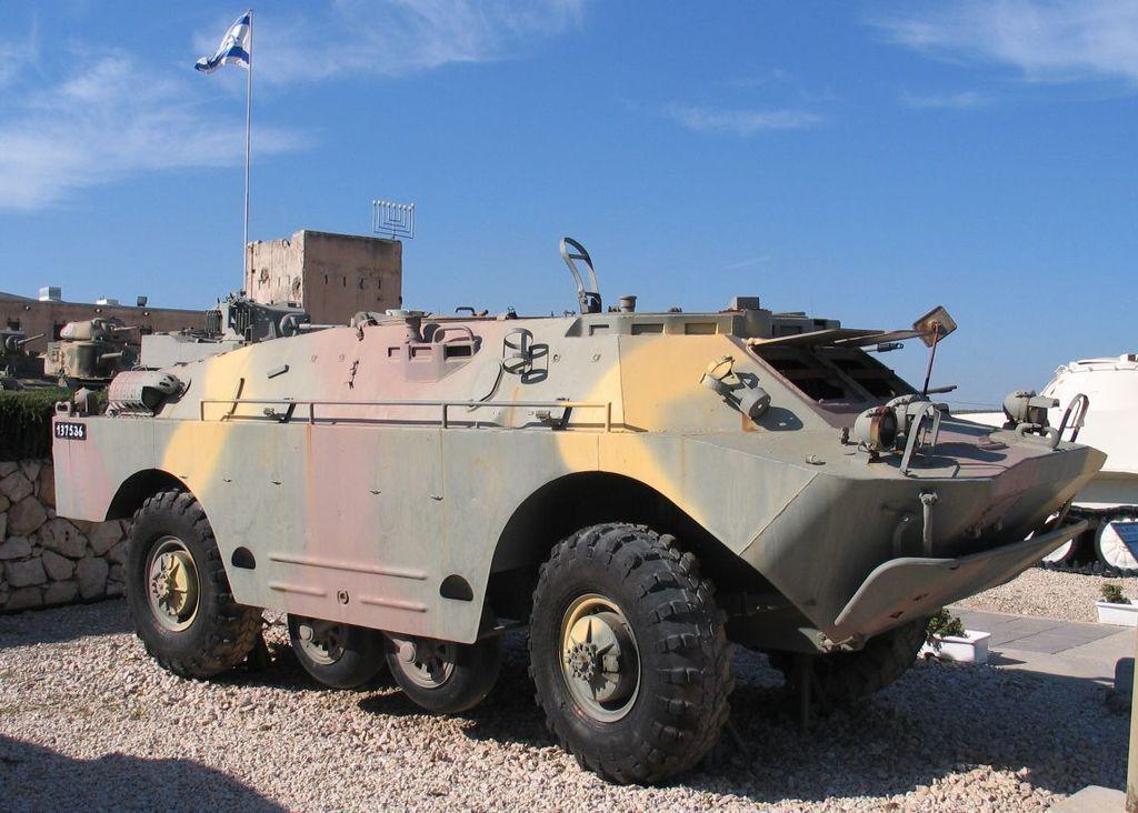 BRDM-2 au 1/43 (collection-presse russe)