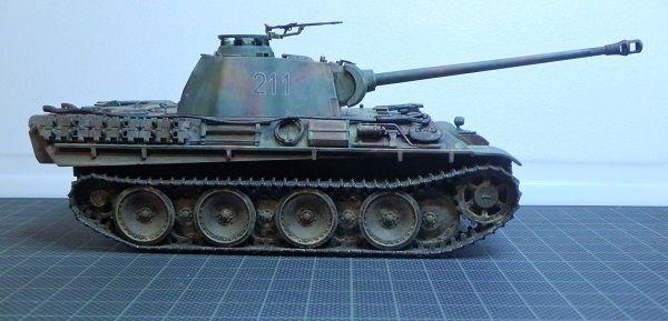 Panther type G early au 1/48 (par Marc H.)