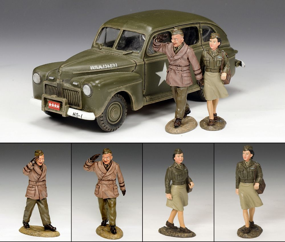 The Eisenhower Staff Car Set