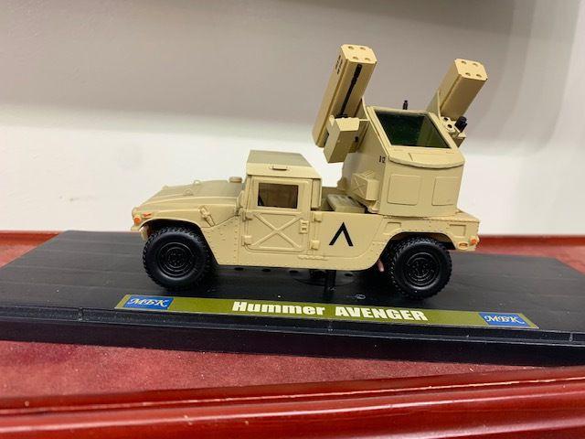HMMWV Avenger au 1/43 de l'armée égyptienne (par Kamal)